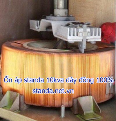 Ổn áp standa 10kva DR dây đồng 100% chạy êm đủ công suất