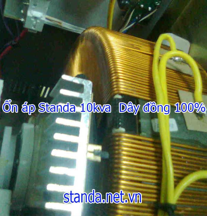 Ổn áp Standa 10kva dải 50v dây đồng 100%