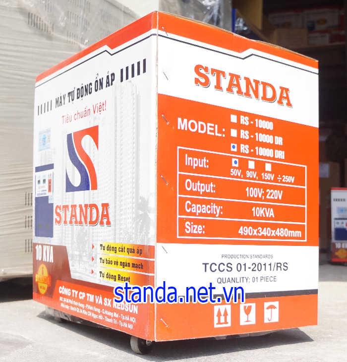 Standa 10kva dải 50v-250v dùng nhiều tại Hải Dương