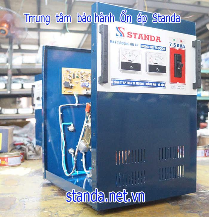 Bảo hành sửa chữa ổn áp standa 7,5kva của Công ty