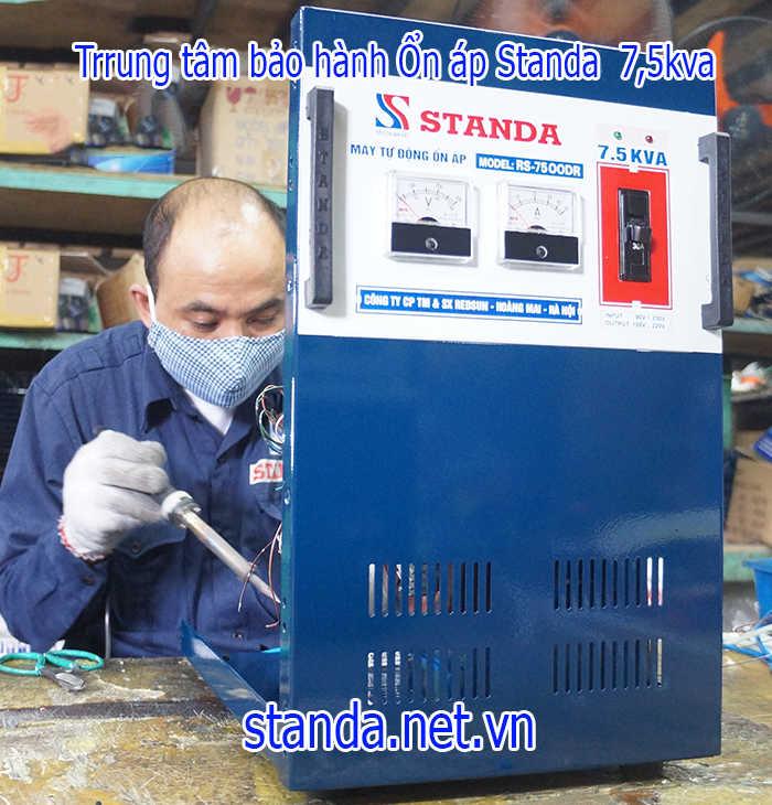 Bảo hành sửa chữa ổn áp standa 7,5kva