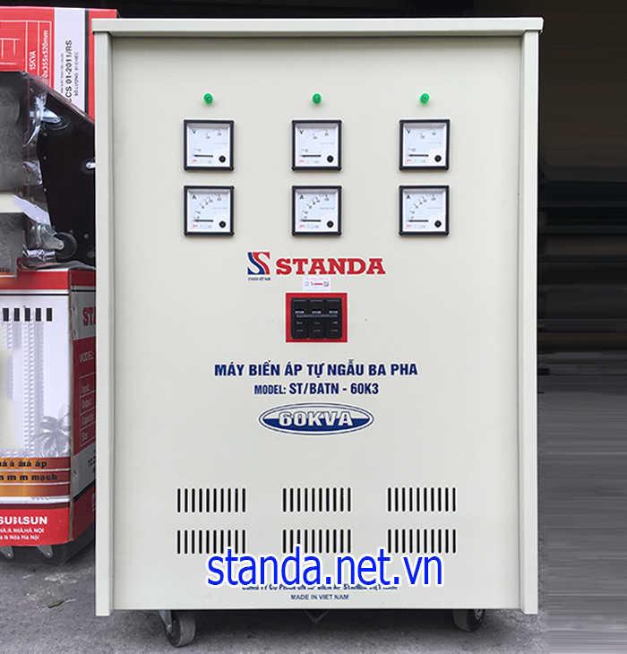 Biến áp standa 3 pha 380v-220v-200v được dùng phổ biến hiện nay