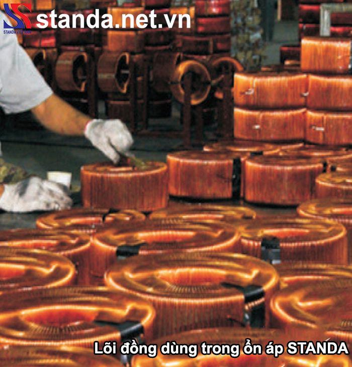 Lõi đồng dùng trong ổn áp Standa
