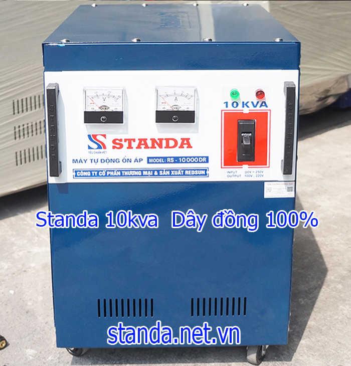 Ổn áp standa 10kva DR dải 90v chính hãng của Công ty