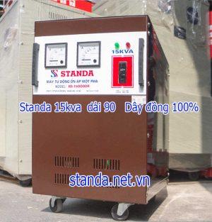 Ổn áp standa 15kva dải 90v-250V