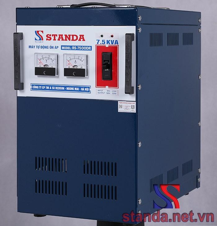 Ổn áp Standa 7,5kva chính hãng dải 90v-250v 1 pha