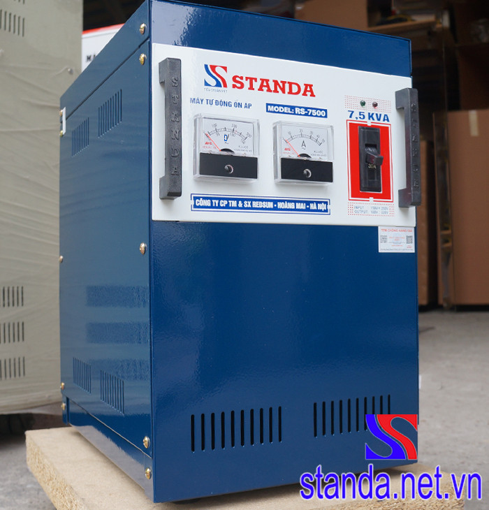 Ổn Áp Standa 7.5kVA Model 7500DR