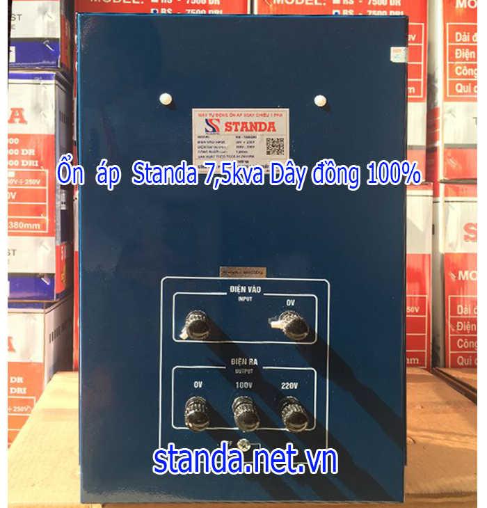 Ổn áp Standa 7,5kVA chính hãng_của Công ty