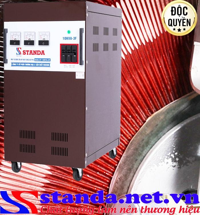 máy ổn áp 3 pha 10kva Standa (260V-430V)