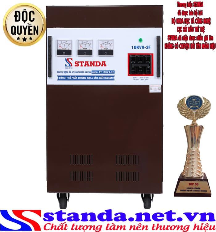 Ổn áp 3 pha 10kva Standa(160V-430V)