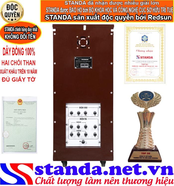 Tác dụng của ổn áp standa 20kva 3 pha điện áp (160V-430V)
