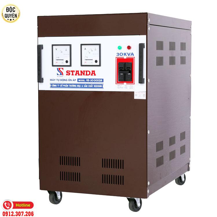 Ổn áp standa 30KVA dải điện áp 90V