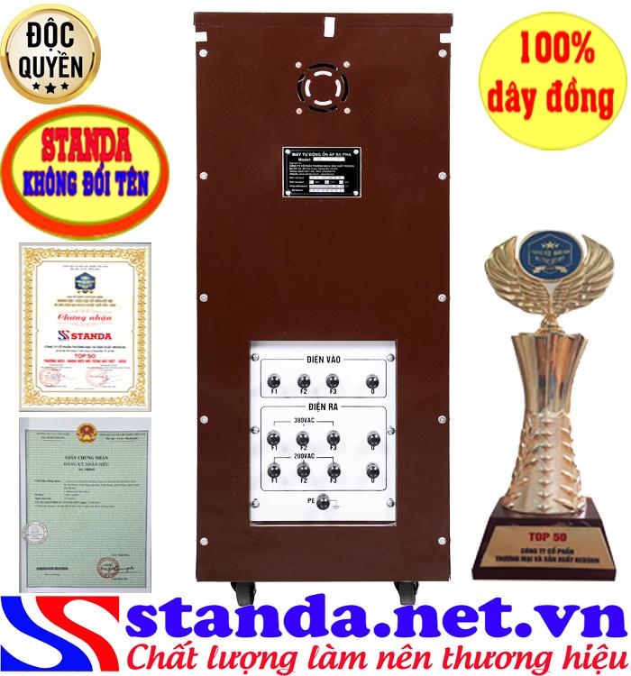 Ổn áp 3 pha 20kva Standa điện áp (260V-430V)