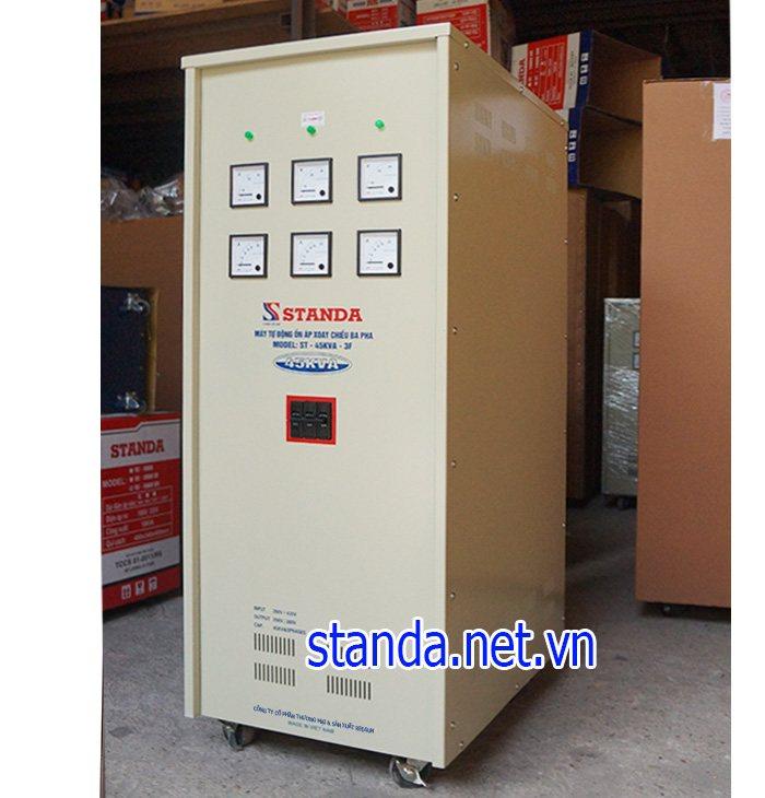 Standa 45kva 3F dải 260V-430V chính hãng dây đồng 100%