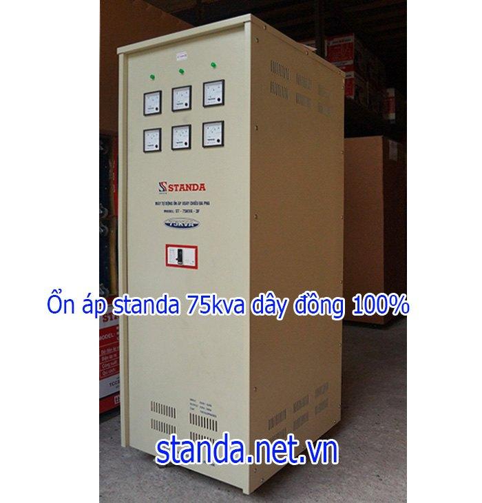 Standa 75kva 3 pha dải 160v-430v chính hãng