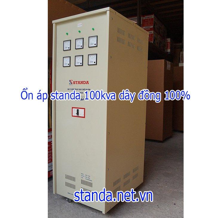 Standa 100kVA 3F dải 260v~430v điện ra 380v; 200v