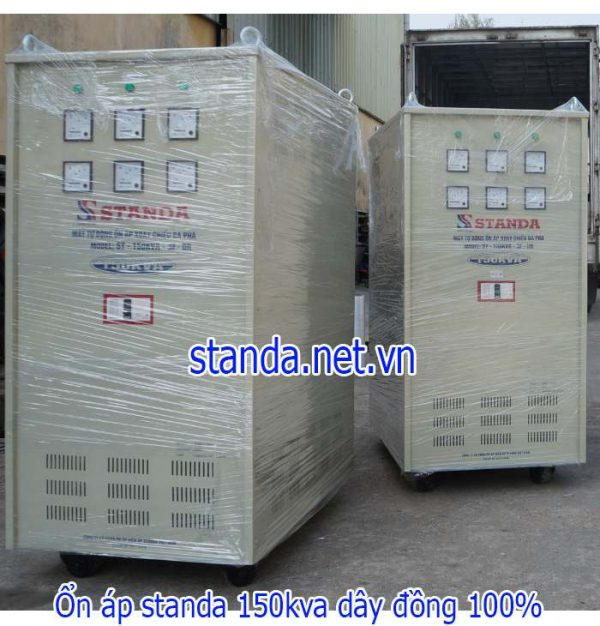 Standa 150kVA 3F dải 160V-430V cho nhà máy