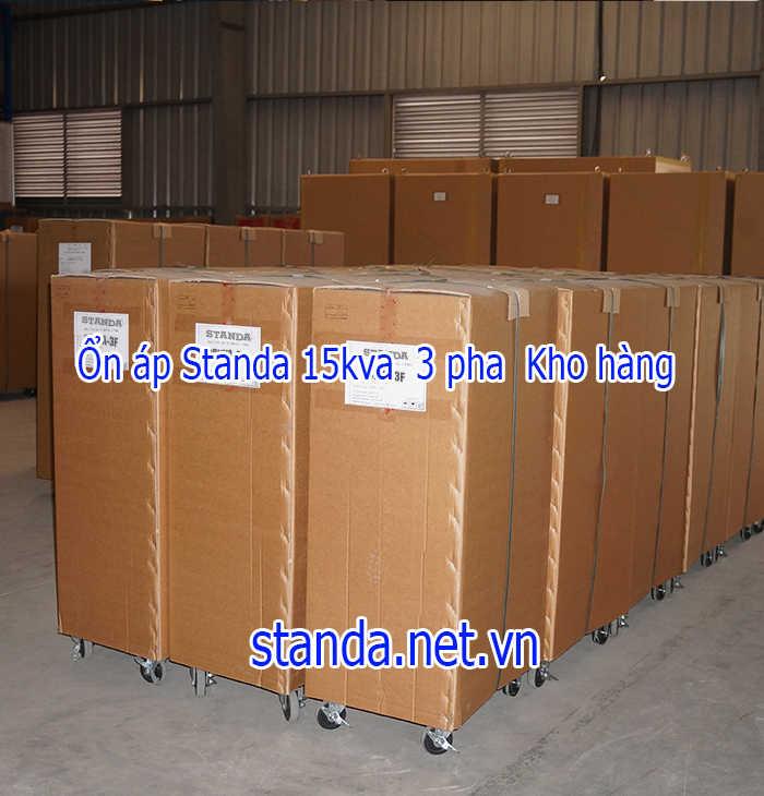 Ổn áp Standa 15kva 3F dải 260v-430v-Kho ổn áp Standa