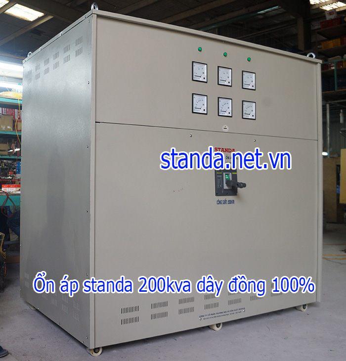 Standa 200kva 3F dải 260v-430v-điện ra 380v