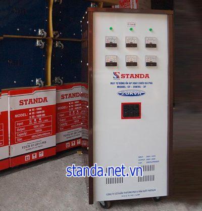 Ổn áp Standa 20KVA 3 pha chính hãng của Công ty.