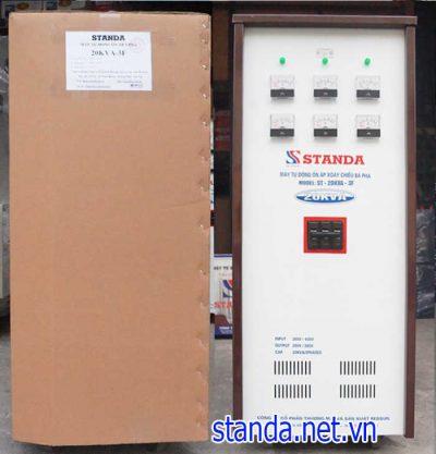 Standa 20kva 3 pha chuẩn chính hãng của Công ty