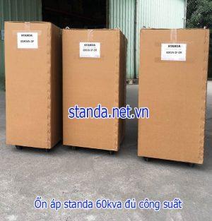 Standa 60kVA Dải 160V-430V Cho Nơi Điện Qúa Yếu