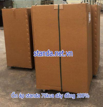 Ổn áp standa 75kva dải 160v-430v chính hãng