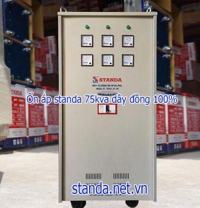Standa 75kVA 3F dải 160V-430V chính hãng
