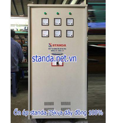 Standa 75kVA 3F dải 160V-430V điện ra 380v; 200-Hàng đặt
