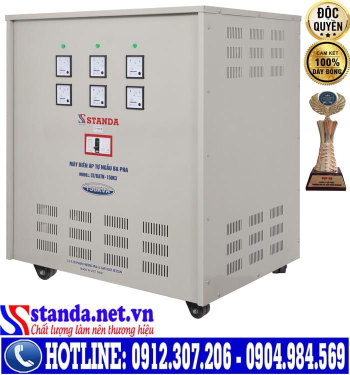 Biến áp Standa công suất 150KVA khác với 150KVW như thế nào