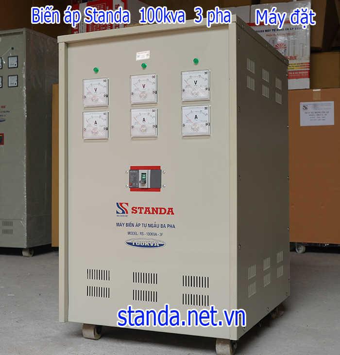 Biến áp 100kva đổi nguồn 380V ra 220V; 200V-Máy đặt hàng