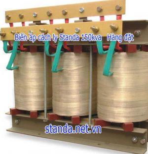 Biến áp 150kva cách ly standa 100% dây đồng-