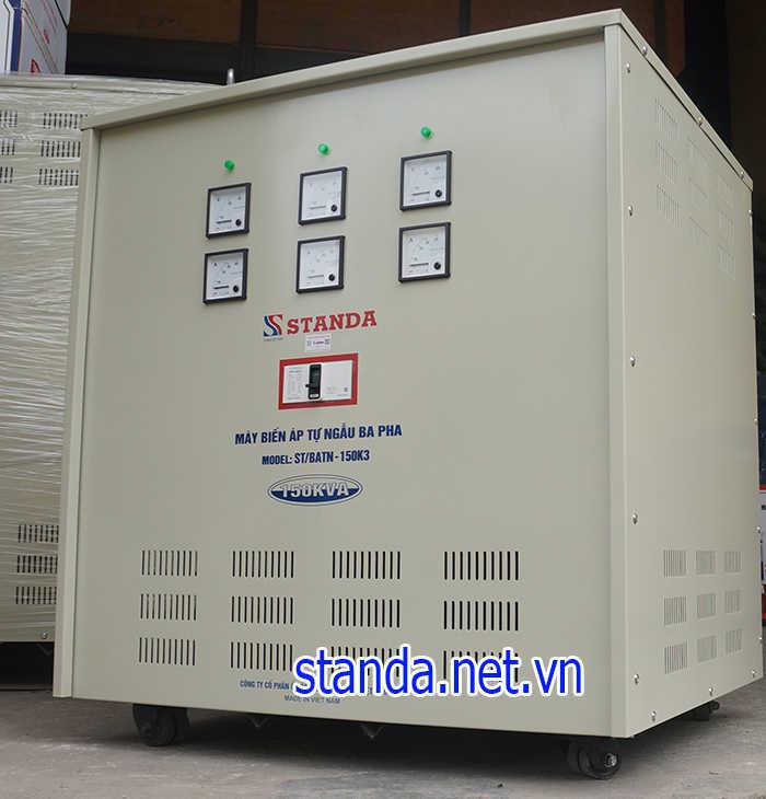 Biến áp 150kVA Standa đổi nguồn 380V ra 220V; 200V hàng chuẩn đủ công suất