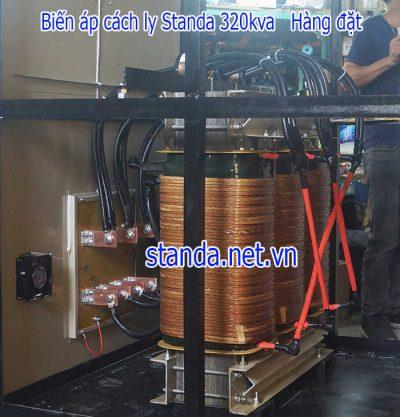 Biến áp 320kva cách ly standa 100% dây đồng