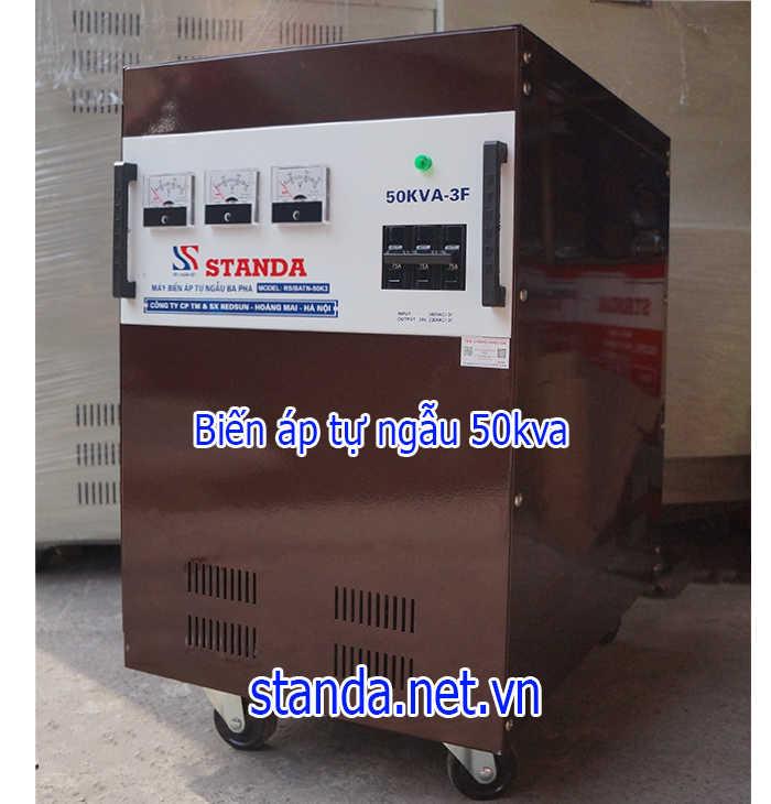 Biến áp 50kva đổi nguồn 380V ra 220V và 200V
