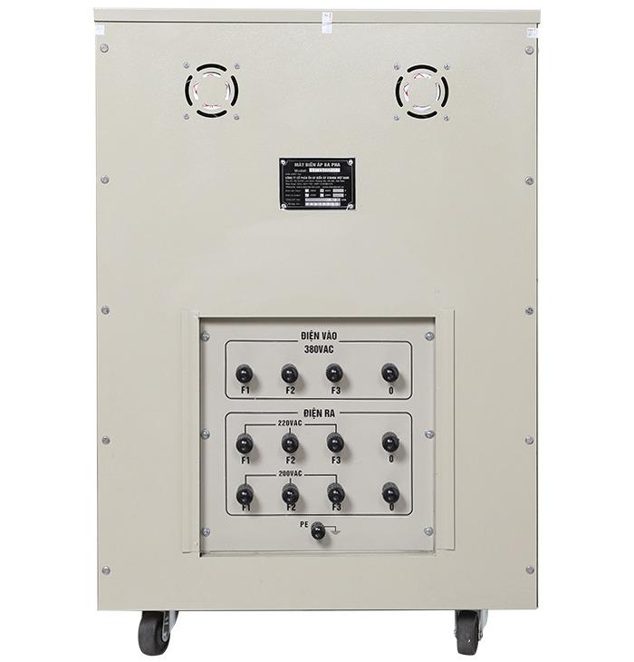 Biến áp cách ly 3 pha standa 80kva điện vào 380v điện ra 220v; 200v