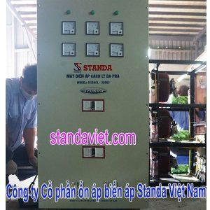 Biến áp cách ly 320kva standa chính hãng Công ty Cp ổn áp biến áp Standa Việt Nam