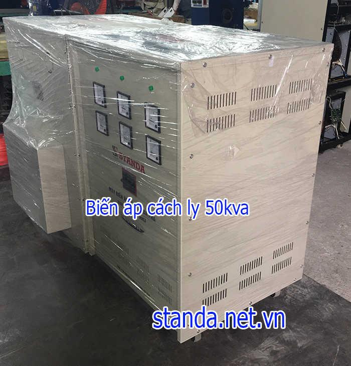 Biến áp cách ly 50kva 3 pha standa chính hãng của Công ty