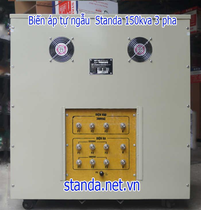 Biến áp Standa 150kva 3 pha Input 380V Output 220V-200V
