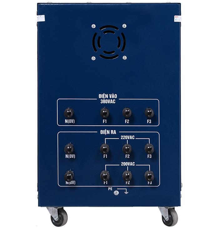 Biến áp tự ngẫu 10kva Input 380v Output 220v; 200v