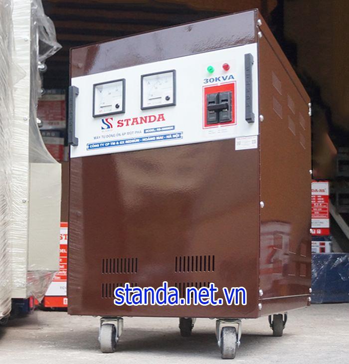 Giá standa 30kva dải 150v chính hãng của Công ty