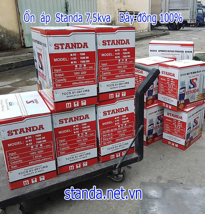 Giá standa 7,5kva chính hãng