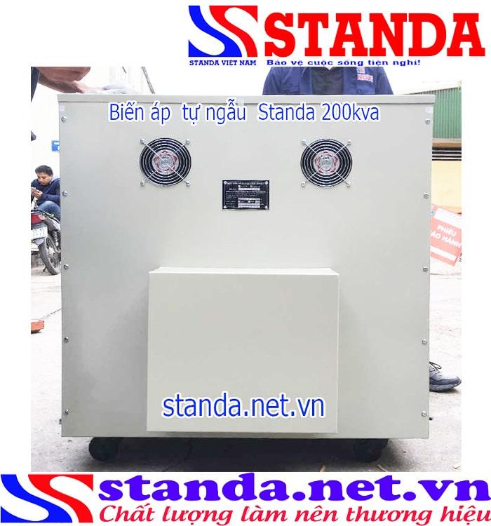 Ưu điểm của biến áp tự ngẫu Standa 200kva