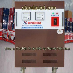 Ổn áp Standa 15kVA chính hãng Công ty Cổ phần ổn áp biến áp Standa Việt Nam