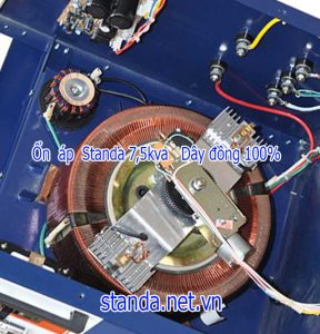 Ổn áp standa 7,5kva quấn dây đồng 100% chạy êm ít tốn điện