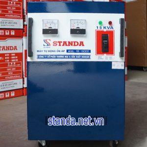 Ổn áp standa 15kVA 150V-250V dải thường chính hãng của Công ty