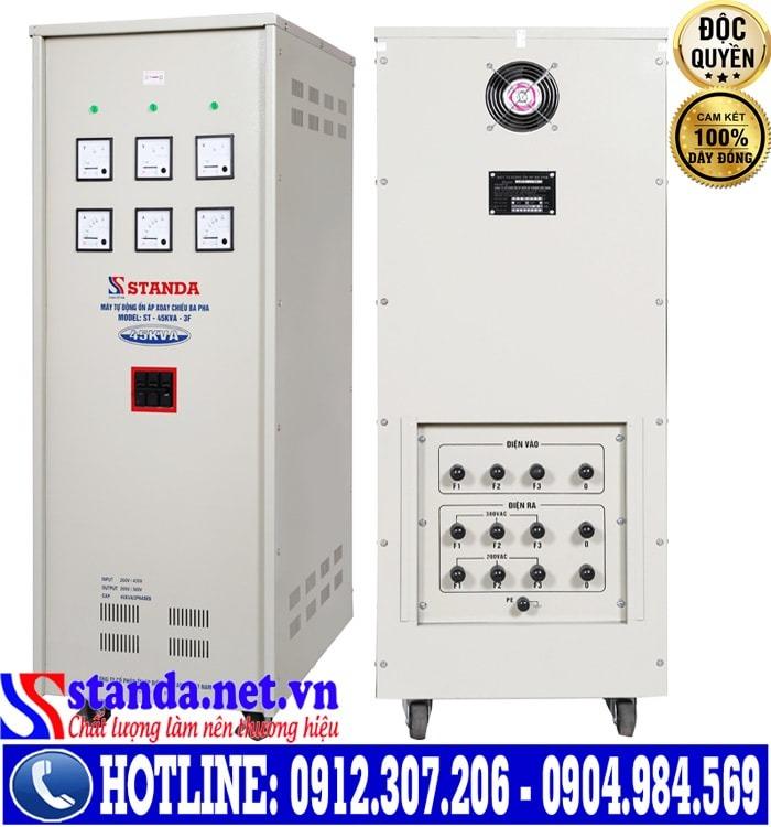 Nguyên lý hoạt động của ổn Áp Standa 45kVA Dải 260V-430V