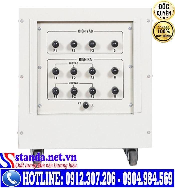 Điểm vượt trội của ổn áp Standa 45kVA dải điện 260V-430V