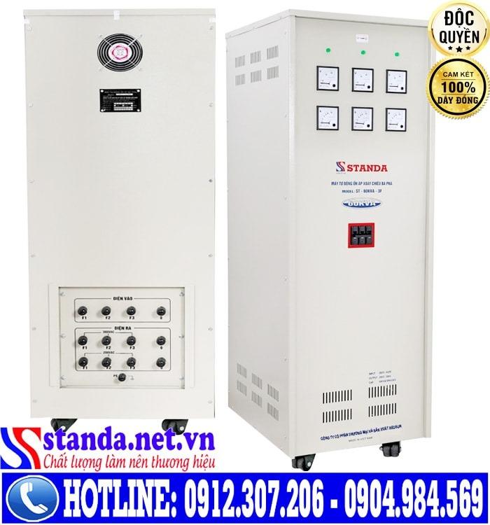 Nguyên lý làm việc của ổn áp Standa 3 pha 60kva điện áp 260V-430V