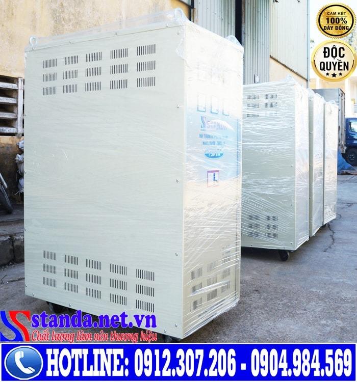 Ổn áp 3 pha STANDA 75KVA dải điện áp 260V-430V
